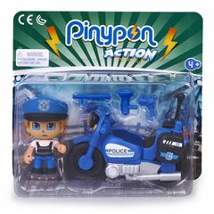 E-8 Pinypon Action Police Motorbike - Sanborns