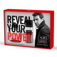 Set para Caballero Antonio Banderas Power of Seduction EDT 100 ml + Desodorante 150 ml - Sanborns