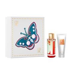 Fragancia Para Dama Set Carolina Herrera, Ch L'eau EDT 100ml + Body Lotion 100ml Md20 - Sanborns
