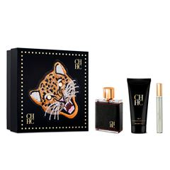 Set Para Caballero Carolina Herrera, Ch Men EDT 100ml + After Shave 100ml + Megaspray 10ml Fd20 - Sanborns