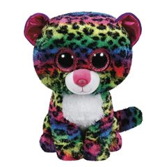 PELUCHE DOTTY MULTICOLOR LEOPARD TY - Sanborns