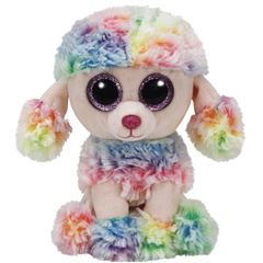Rainbow Poodle Multicolor Reg Ty - Sanborns