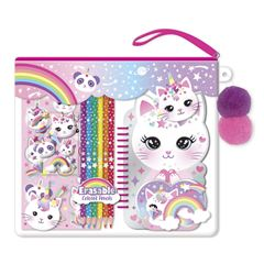 Juego De Libreta Para Colorear Caticorn 323cat Hot Focus - Sanborns