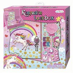 Caja Con Candado Guarda Tus Secetos Unicornio 217uc Hot Focus - Sanborns