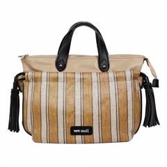 Bolso Pepe Moll  satchel color café - Sanborns