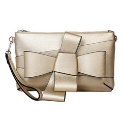 Bolso clutch color dorado - Sanborns