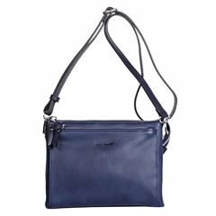 Bolso Pepe Moll cross body azul - Sanborns