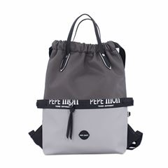 Bolso Back Pack tricolor gris Pepe Moll - Sanborns