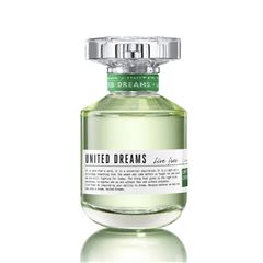 Fragancia Para Dama , Benetton United DreamsLive Free EDT 80ML - Sanborns