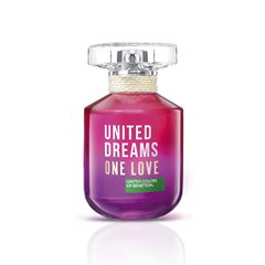 Fragancia para dama, Benetton, One Love, EDT 80ML - Sanborns