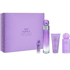 Fragancia Para Dama Set 360º Purple Perry Ellis de 4 piezas - Sanborns