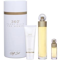 Fragancia Para Dama Set 360º Women Perry Ellis de 3 piezas 100ML - Sanborns