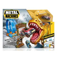 Pista de Carreras T-Rex attack Zuru Metal Machines - Sanborns