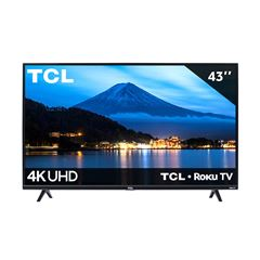 "Pantalla TCL 43"" Smart TV Roku TV 4K UHD 43S425-MX - Sanborns"