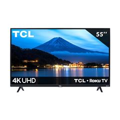 "Pantalla TCL 55"" Smart TV Roku TV 4K UHD 55S425-MX - Sanborns"
