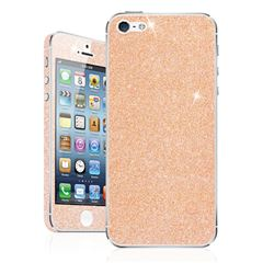 Skin Para Iphone 5S/SE Glitter Skin Rose Gold - Sanborns