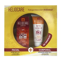 Kit Fotoprotección Solar Antiedad Heliocare Gel + Spray - Sanborns