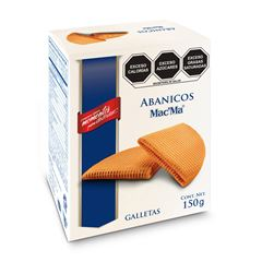 Galletas Mac' Ma  Abanico 150 gr - Sanborns
