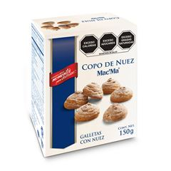Galleta Mac´Ma  - Copo De Nuez 150 grs - Sanborns
