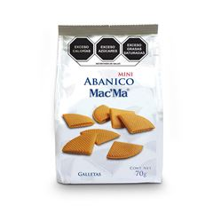 Bolsa de Galletas Mini Abanico Mac' Ma 70g - Sanborns