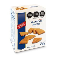 Galletas Mini Abanico Mac' Ma 150g - Sanborns