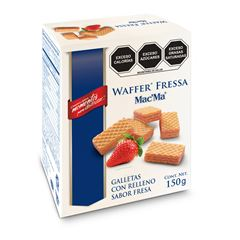 Galleta Wafer Fresa 150 g - Sanborns