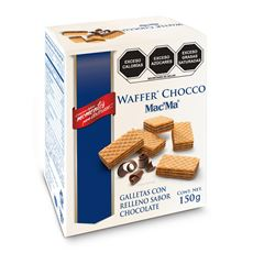 Galletas Wafer con relleno de Chocolate Mac' Ma 150g - Sanborns