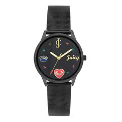 Reloj Juicy Couture JC1025BKBK para Dama - Sanborns