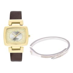 Set Reloj + Brazalente Nine West NW2304C5ZU Para Dama - Sanborns