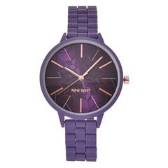 Reloj NW2334PRPR Nine West Para Dama - Sanborns
