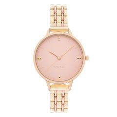 Reloj Para Dama NW2338GPRT Nine West - Sanborns