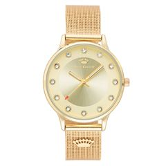 Reloj Juicy Couture Dorado 1128CHGB Para Dama - Sanborns
