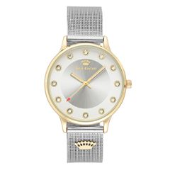 Reloj Juicy Couture Plata JC1128SVTT Para Dama - Sanborns