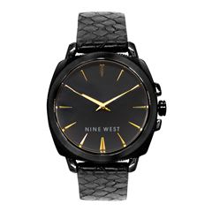 Reloj Nine West Para Dama Negro - Sanborns