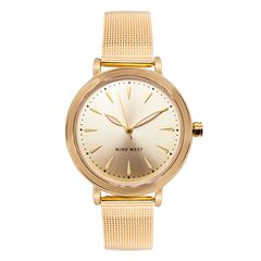 Reloj Nine West Para Dama Dorado - Sanborns