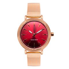 Reloj Nine West Oro Rosa Para Dama - Sanborns