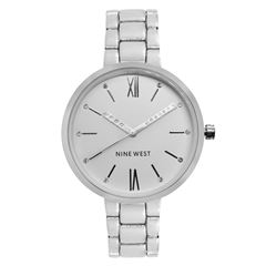 Reloj Nine West Blanco Para Dama - Sanborns