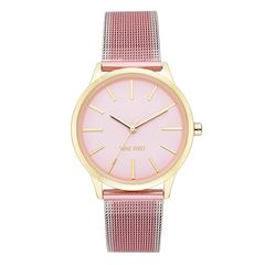Reloj Nine West Nw2462Gppk Dama - Sanborns