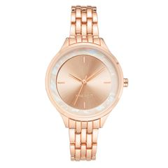 Reloj Nine West NW2544RGRG para Dama Color Oro Rosa - Sanborns