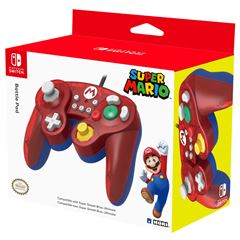 Control para Nintendo Switch Super Mario Battle Pad Rojo - Sanborns