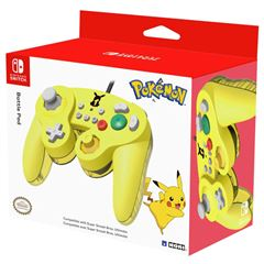 Control para Nintendo Switch Pikachu Battle Pad Amarillo - Sanborns