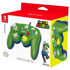 Control para Nintendo Switch Luigi Battle Pad Verde - Sanborns