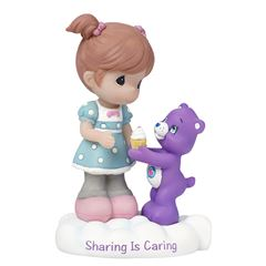 Care bear girl with share bear figurine - Sanborns
