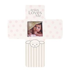 Precious lamb girl photo frame - Sanborns