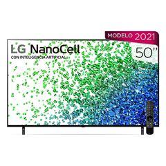 """Pantalla LG NanoCell TV AI ThinQ 4K 50"""" 50NANO80SPA - Sanborns"""