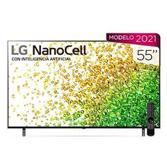 """Pantalla  LG NanoCell TV AI ThinQ 4K 55"""" 55NANO85SPA - Sanborns"""