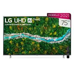 """Pantalla  LG UHD TV AI ThinQ 4K 75"""" 75UP7750PSB - Sanborns"""