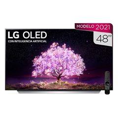 "Pantalla LG OLED TV AI ThinQ 4K 48"" OLED48C1PSA - Sanborns"
