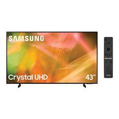 "Pantalla LED Samsung 43"" 4K UN43AU8000FXZX - Sanborns"
