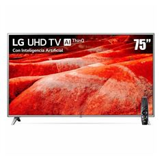 "Pantalla LG UHD TV AI ThinQ 4K 75"" - Sanborns"